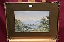 William Taylor Longmire (1841 - 1914), pair waterc