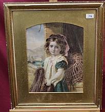 Walter Little (act. 1864 - 1878), watercolour - po