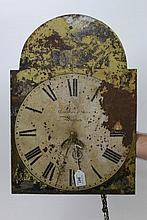George III thirty hour longcase clock movement wit