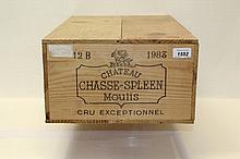 Wine - twelve bottles, Chateau Chasse - Spleen Moulis Cru Exceptionnel