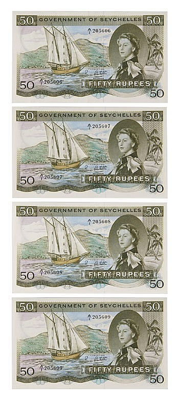 Coin : Banknotes - Seychelles - Government of