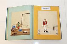 Album with Oriental (Indian), original designs, ha