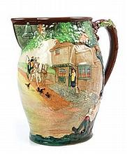 Royal Doulton relief moulded limited edition jug,