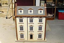 Georgian-style Town House Dolls' House, with hinge