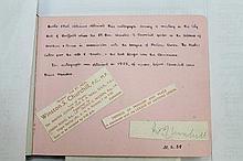 Autograph - Sir Winston Churchill, British Politic