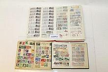 Stamps - World accumulation in albums and stockboo