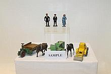 Selection of Britains and other manufacturer's lea