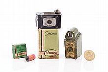 A Coronet 'Cameo' camera in original box with inst