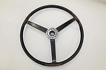 Late 1930s Bentley Sports steering wheel with thre