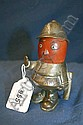 1920s Nickel plated 'Bobby' car mascot signed