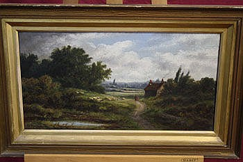 Edward A Atkyns, nineteenth century oil on canvas