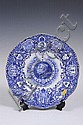 Coalport blue and white King George V Coronation