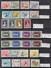 COLLECTIONS AND MIXED LOTS World singles, sets,