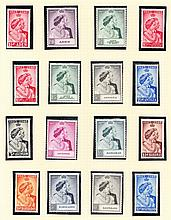OMNIBUS ISSUES 1948 Silver Wedding complete collection (except GB) U/M