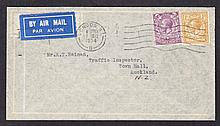 POSTAL HISTORY 1934 (Dec 7th) Air Mail cover bearing Block Cypher 3d