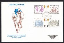 1973 Inigo Jones Newmarket (Rotary Club) Official FDC. Address label, fine. Cat £150