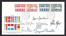 1984 European Elections FDC signed by 5 Prime Ministers: Edward Heath,  James Callaghan, Tony Blair, John Major & Margaret Thatcher. Typed address, fine.