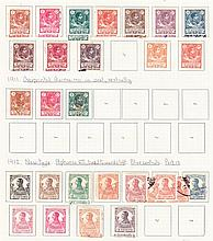Spanish Guinea: 1902-1959 chiefly mint collection neatly written up on leaves incl. 1926 Red Cross set mint, 1931 overprinted set to 1p, 5p mint, 1949-50 10p used, 1950s commems incl. 1952 Ferdinand mint. (2011) Cat £575 (372)