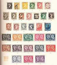 Early British C/W Mint or used collection in SG