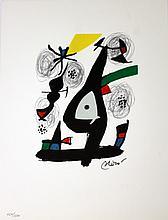 JOAN MIRÓ, LA MELODIE ACIDE 1980- (1) Lithograph