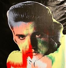 Steve Kaufman- Elvis I
