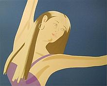 Alex Katz - Night: William Dunas Dance (set of 4), 1981