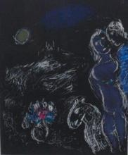 Marc Chagall - St. Paul on Night