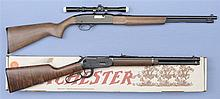 Two Winchester Rifles -A) Winchester Model 190 Semi-Automatic Rifle with Scope