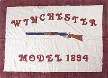 Winchester Model 1894 Latch Hook Rug