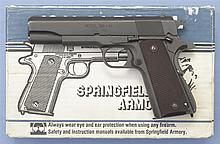 Springfield Armory Model 1911-A1 Semi-Automatic Pistol with Matching Box