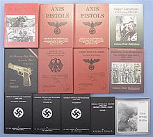 Thirteen Assorted Books on German Weapons