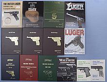 Fourteen Assorted Books on German and Eastern European Handguns