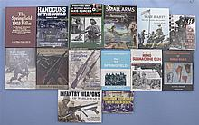 Fourteen Assorted Books on World War II Weapons Uniforms and Holsters