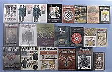 Twenty Three Assorted Books and Manuals on German Weapons, Uniforms, Badges and Flags