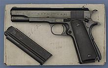 D.G.F.M. Marked Model  1911/1927 Semi-Automatic Pistol with Extra Magazine