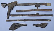 Civil War Era Holster Rig Slings and  Holsters