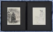 Two German WWII Military Prints