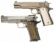 Two Semi-Automatic Pistols -A) Springfield Armory (Inc) Model 1911A1 Pistol