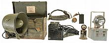 Various Military Gear Primarily Relating to Communications