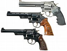 Three Smith & Wesson Double Action Revolvers -A) S&W; Model 629-5 Classic DX Revolver