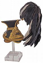 Extremely Rare 9th Queen's Royal Lancers Officer's Czapka