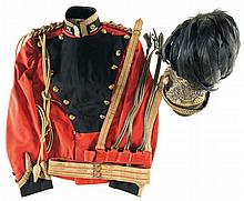 16th Queen's Lancers Officer's Lance Cap and Tunic