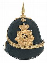 South Wales Borderers Officer's Home Service Helmet
