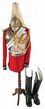 British Household Cavalry Uniform and Sword