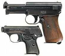 Two German Semi-Automatic Pistols -A) Mauser Model 1934 Pistol