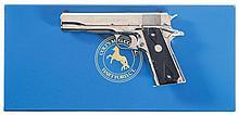 Colt Custom Government Model O .38 Super Semi-Automatic Pistol with Box
