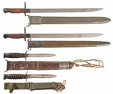 U.S. Military Knifes and Bayonets with Scabbards