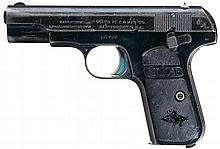 London Agency Shipped Colt Model 1903 Hammerless Pocket Semi-Automatic Pistol with Factory Letter, Inscription, and Copy of Stock Certificate