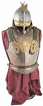 Helmet and Cuirass, Attributed to the Bodyguard Corps of the Khedive of Egypt