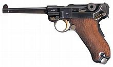 Scarce Documented Mauser Model 1934/06 Commercial Banner Luger Pistol
